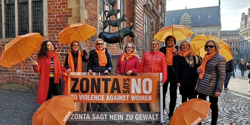 Mitglieder des Zonta Clubs Bremen